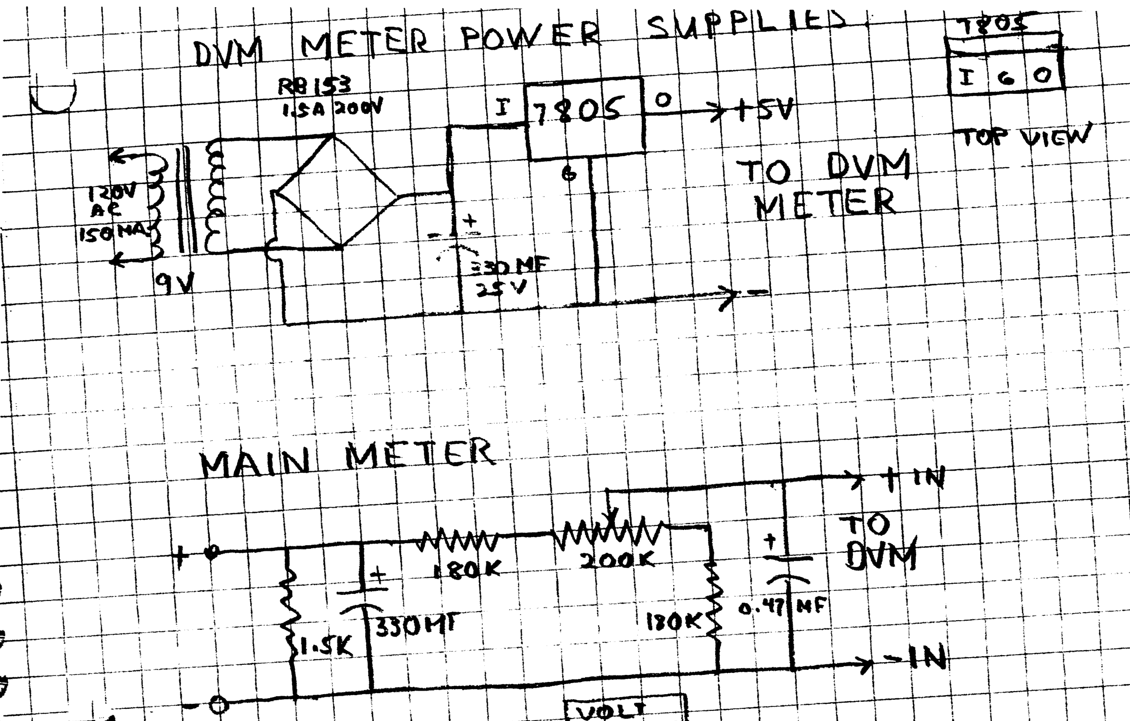 Accurate Calibration Of The Hickok 539b And 539c Tube Tester Digital Panel Meter Wiring Diagram Replacing Main With A 200 Mv This Circuit