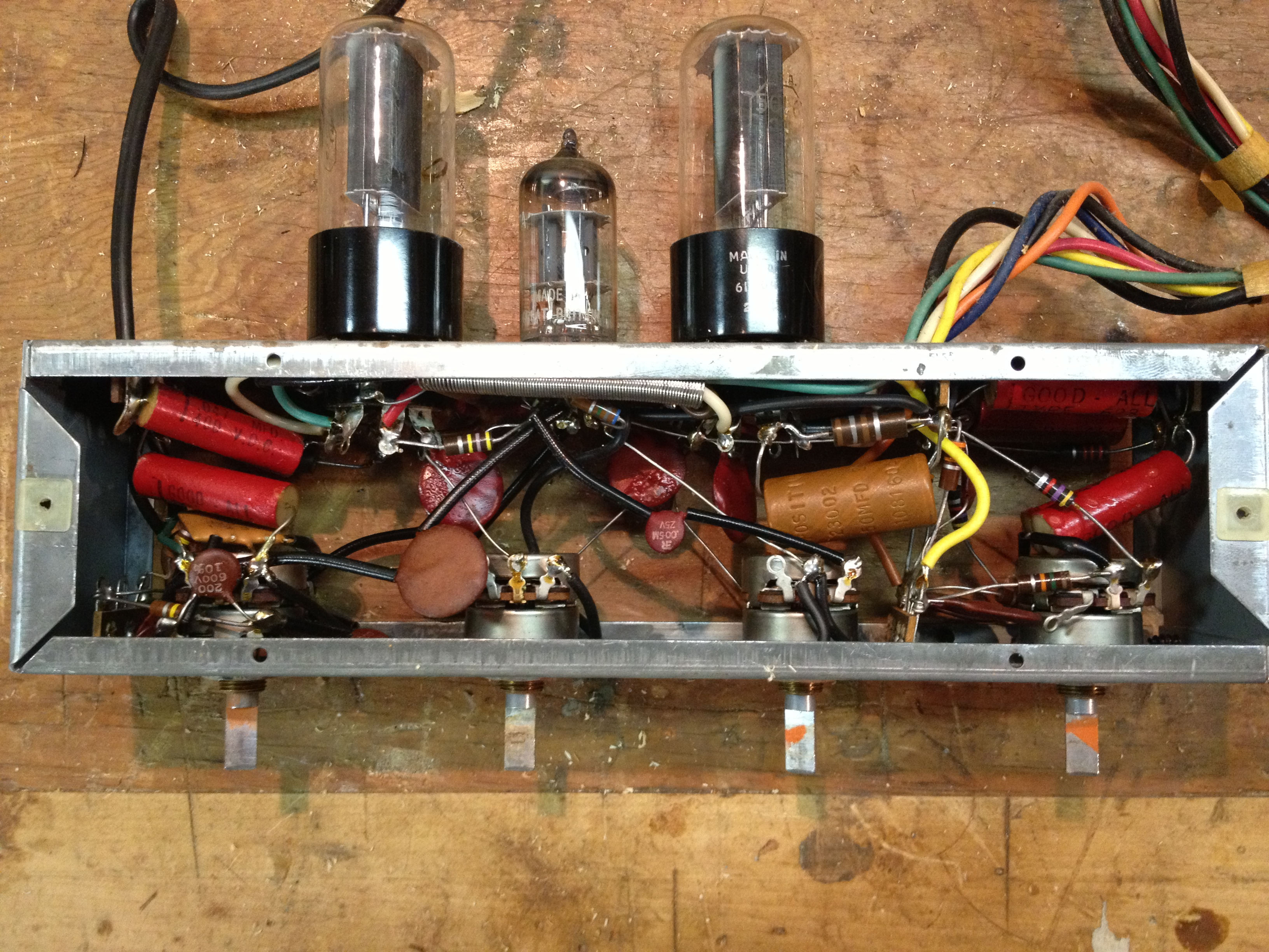Voice Of Music 307 Stereo Phonograph Electronics Restoration Changer Circuit Img 0558