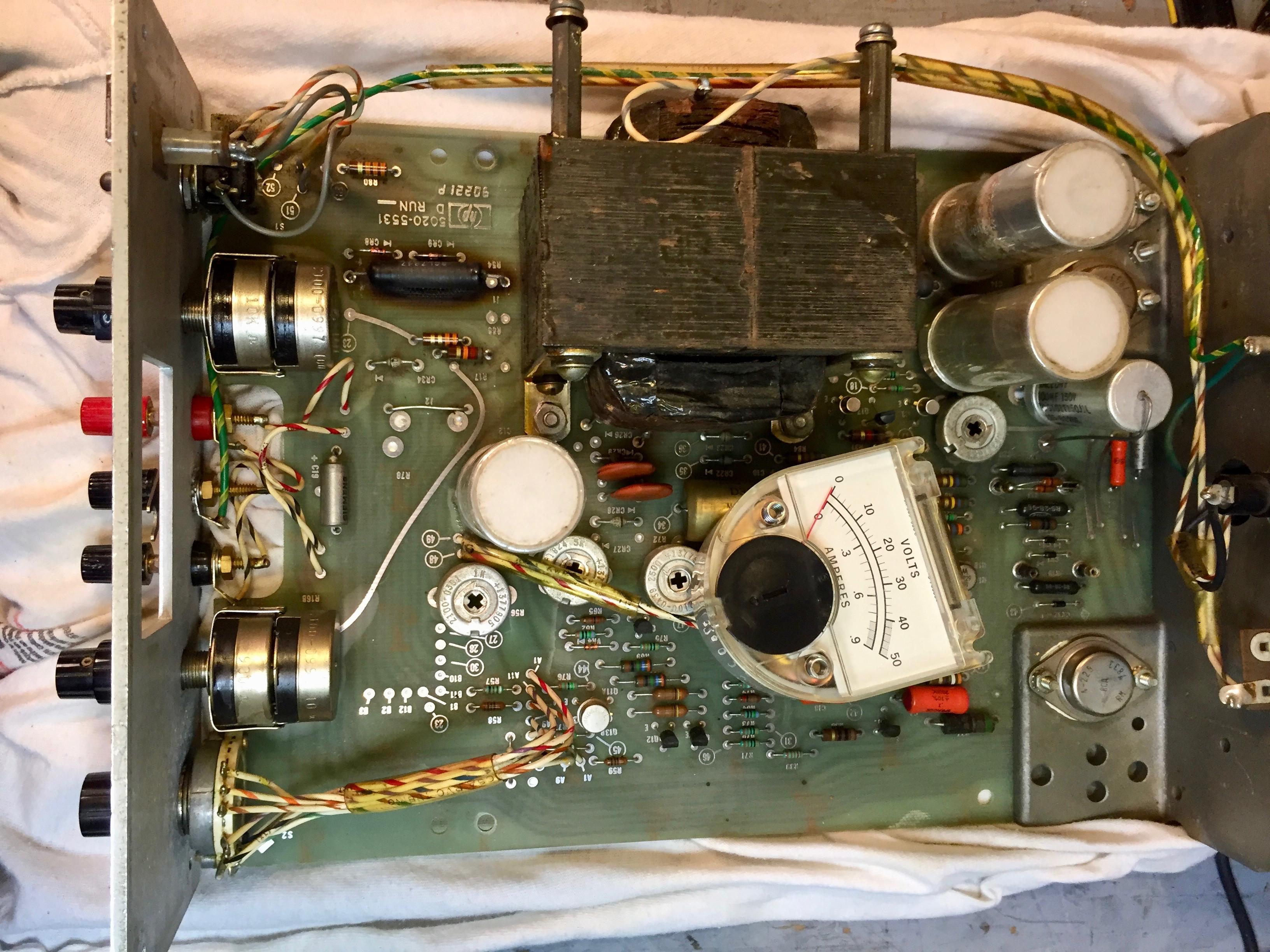 HP/Harrison 6202B Power Supply | Steve's Web Junkyard | Steve Byan