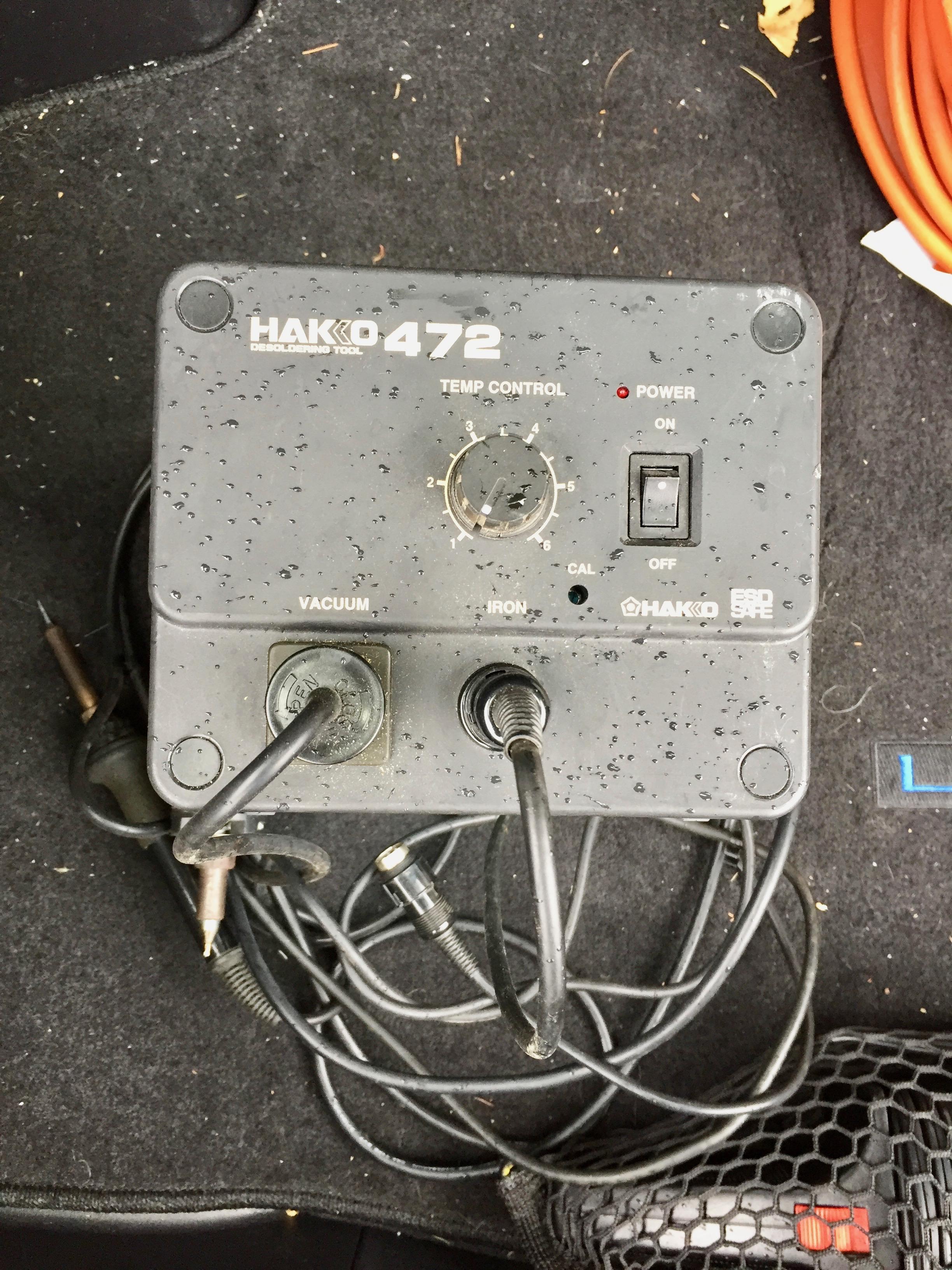 Hakko 472 1 Desoldering Tool Steves Web Junkyard Steve Byan Basic Electrical Wiring About Img 4595